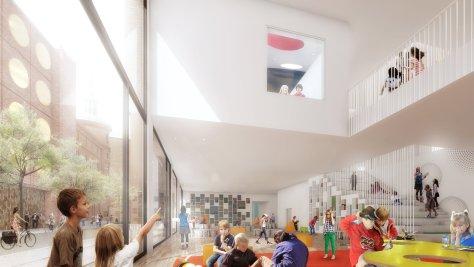 Design European School Copenhagen By NORD Architects And VLA