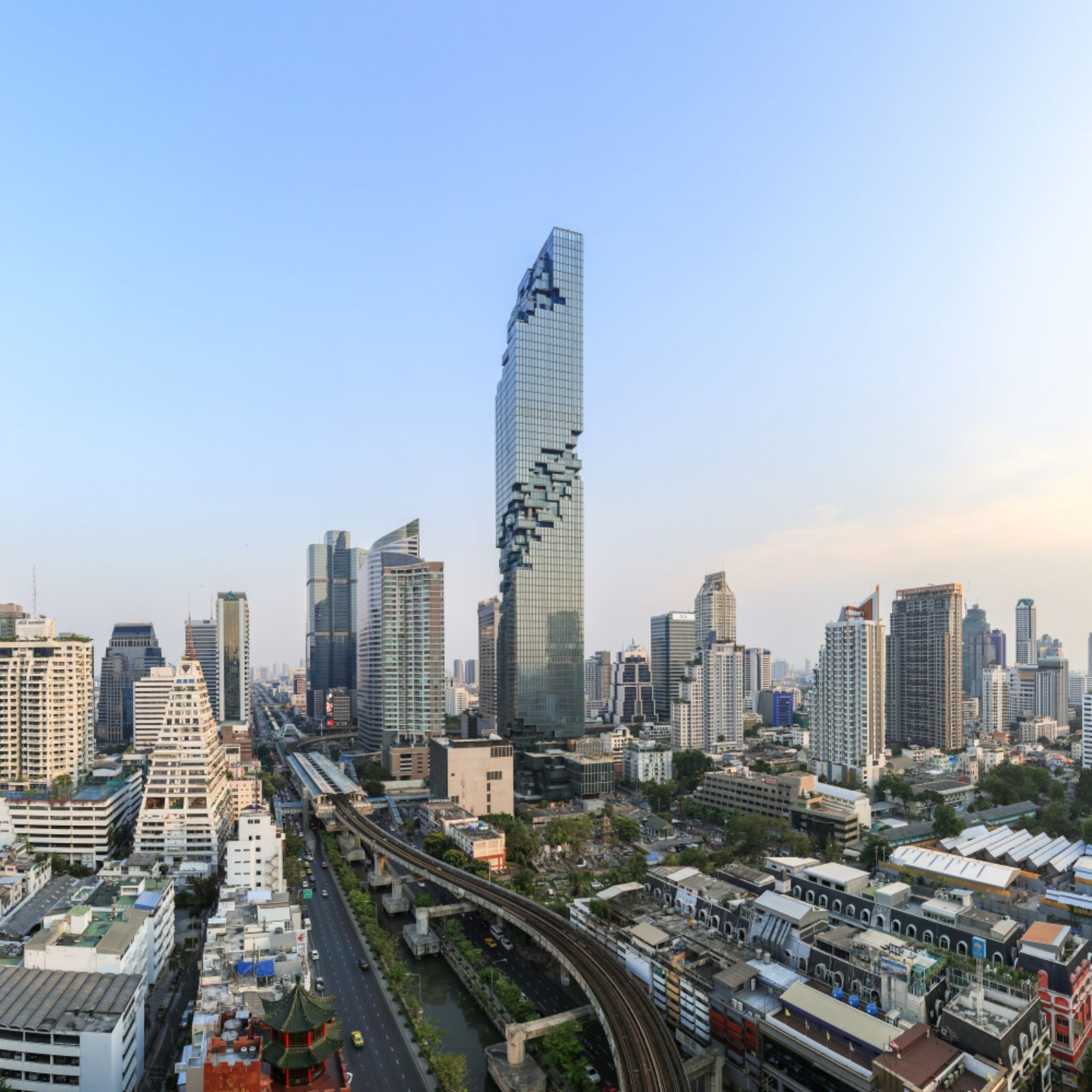 Büro Ole Scheeren Mahanakhon Tower Mahanakhon By Buro Ole Scheeren Group A As Architecture
