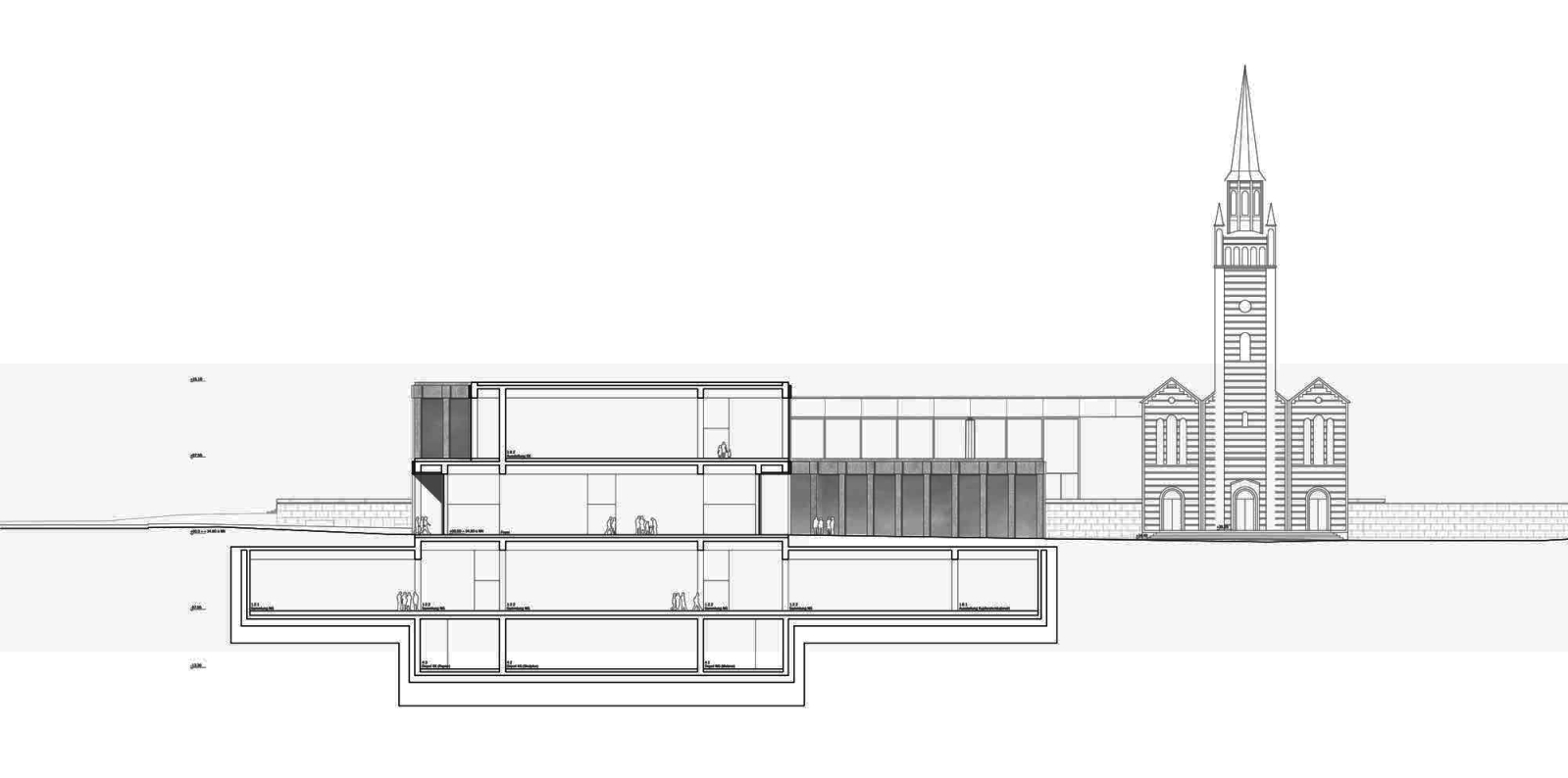 Museum of the 20th Century in Berlin by Beatriz Alés and