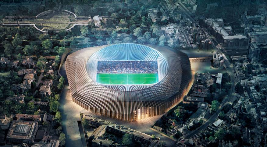 New Stamford Bridge stadium