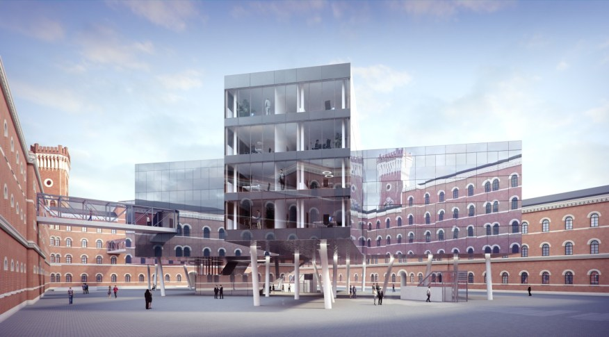 Office building Rossauer Kaserne