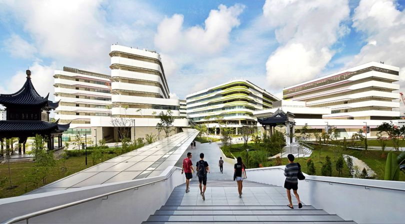 Singapore university of technology and design by unstudio for Architecture 00