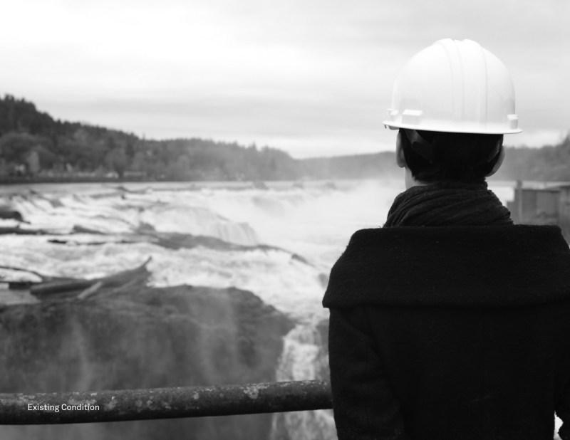 Reimagines Willamette Falls