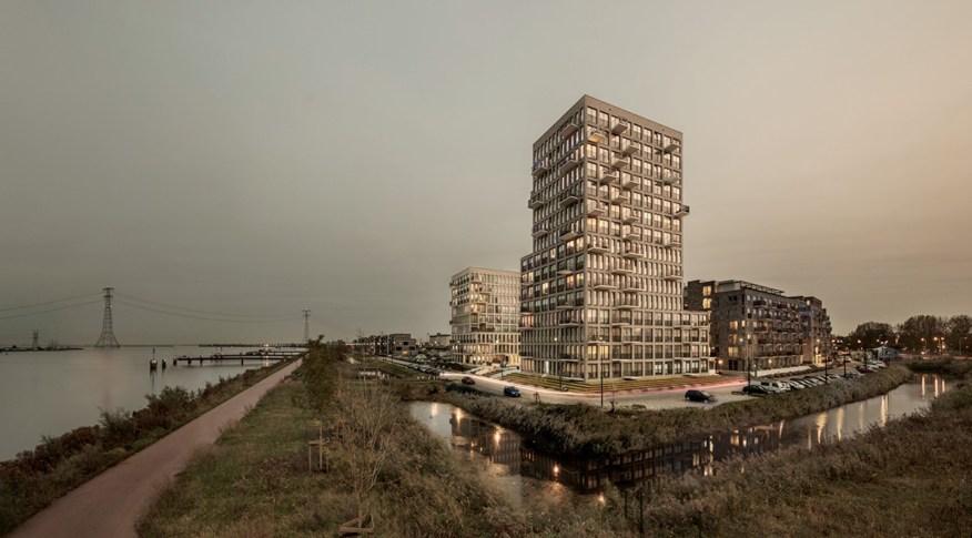 residential complex on Zeeburger Island