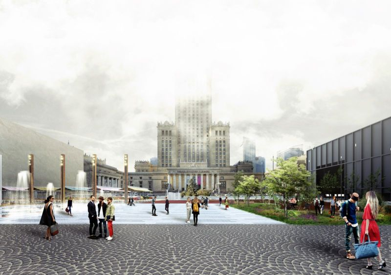 Warsaw Central Square