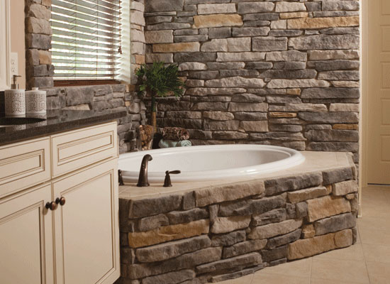 Traditional Bathrooms A A Stone Impex - Ledge Stone