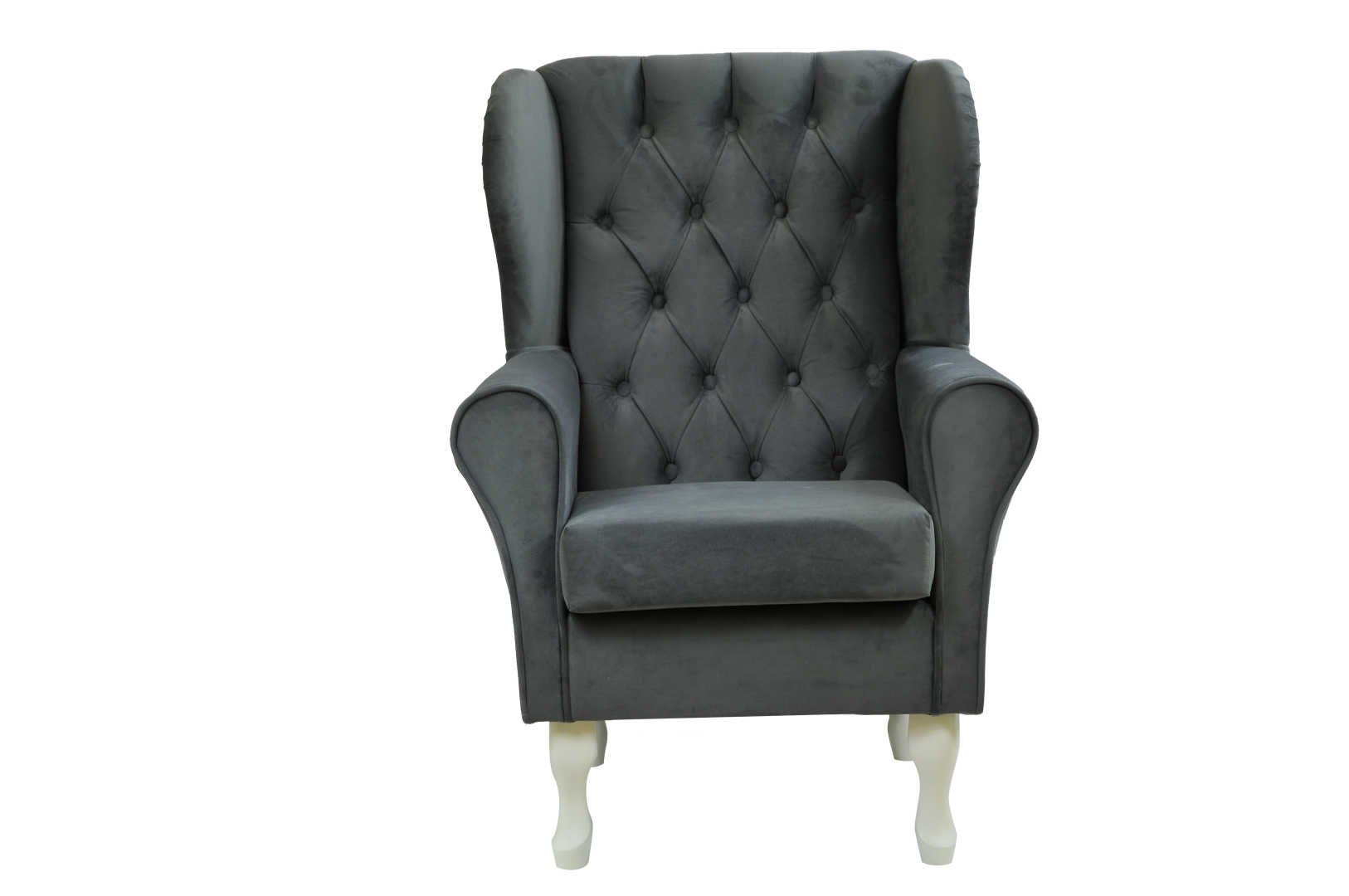 Chesterfield Sessel Grau Chesterfield Ohrensessel Grau