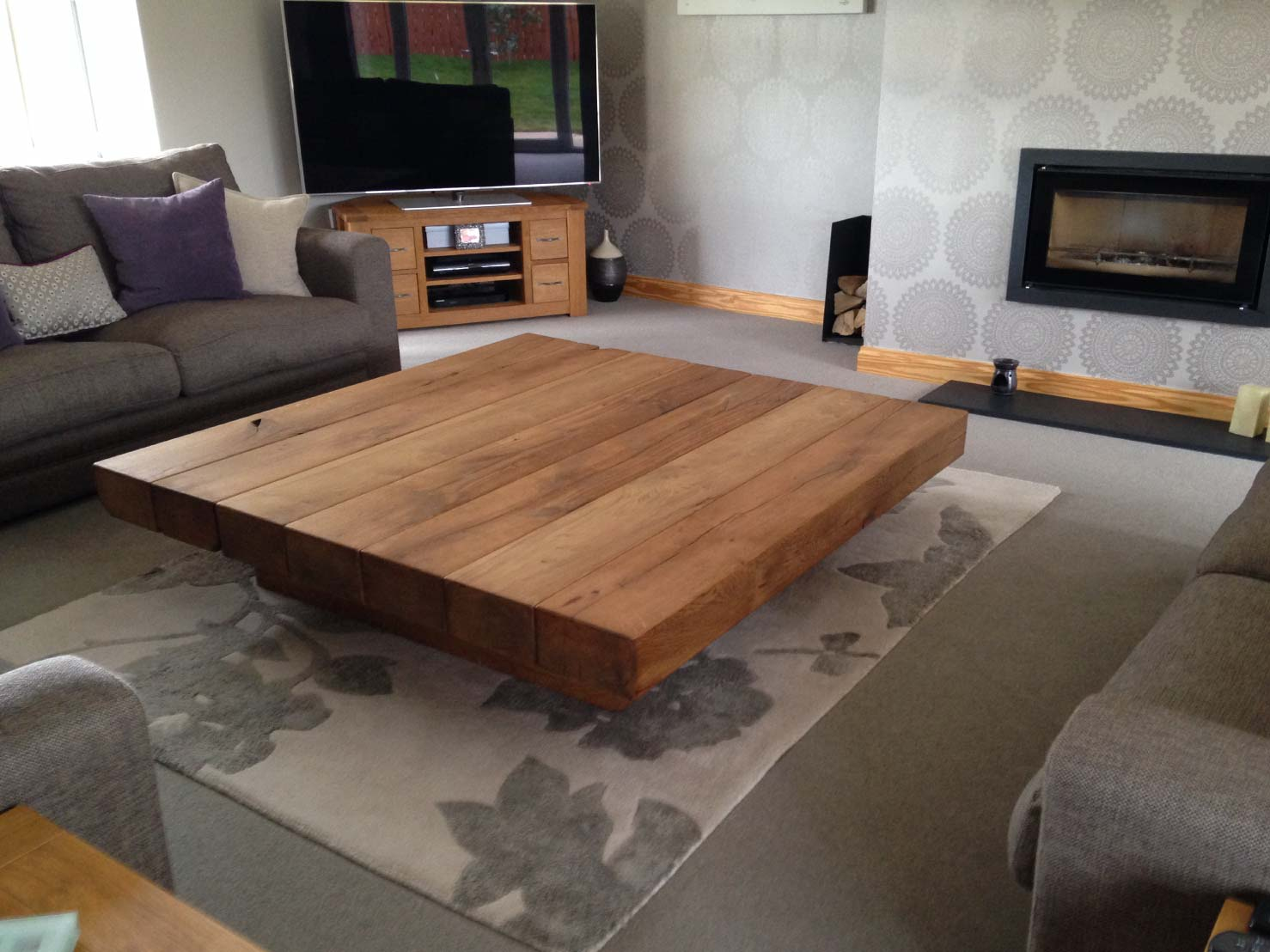 Coffee Table And Dining Table In One Project 201 Large Square Coffee Table Abacus Tables