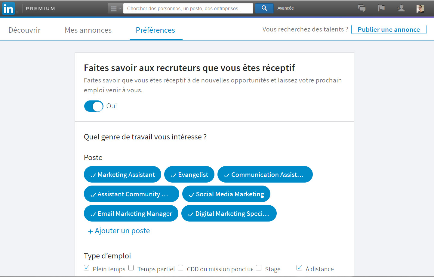 comment rendre son cv plus visible