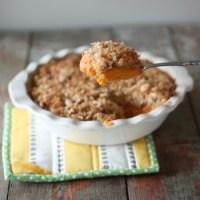 Coconut Crusted Sweet Potato Pie