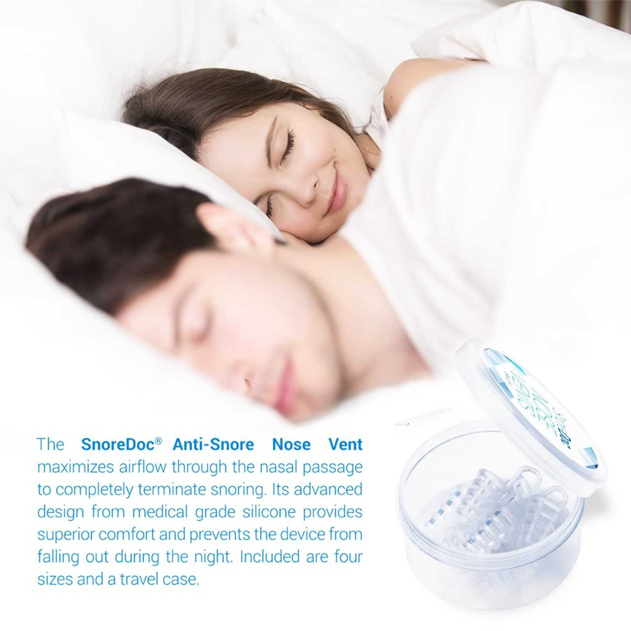 Stop Snoring Aids Anti Snoring Device Stop Snoring Nose Vents Aids Breathing