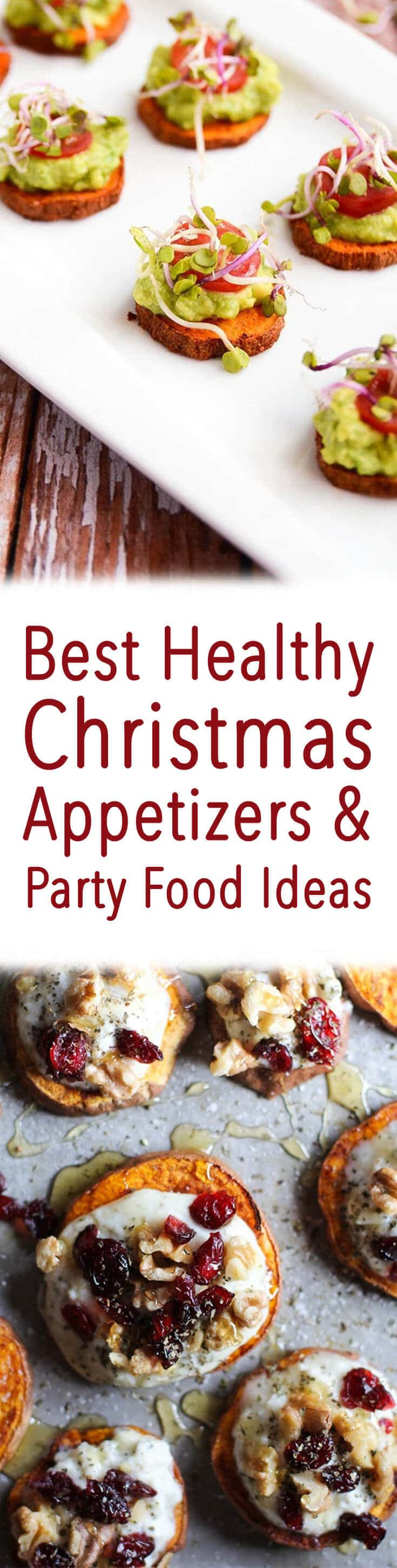 Healthy Christmas Appetizers Pinterest 16 Best Healthy Christmas Appetizers Party Food Ideas