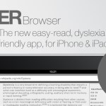 ERBrowser adds support for OpenDyslexic