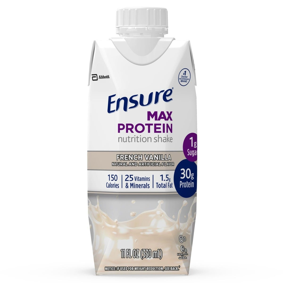 Abbott Infant Products Ensure Max Protein Nutrition Shake French Vanilla 11