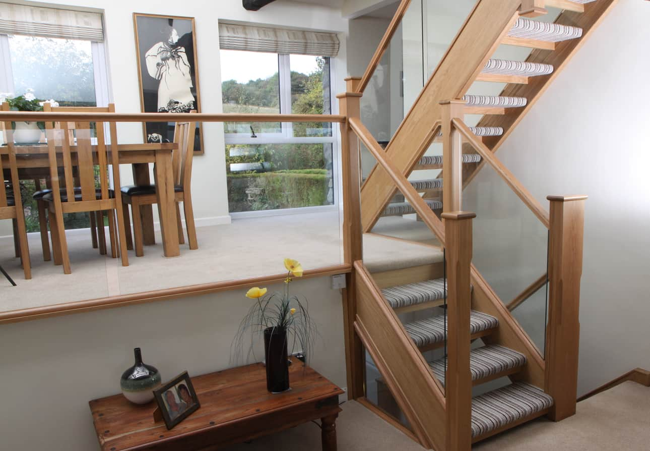 Staircases Contemporary Contemporary Staircase Design And Ideas Abbott Wade