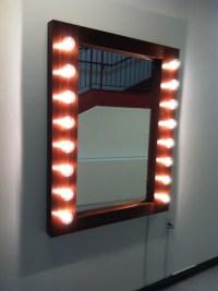 Present Project: Light Bulb Mirror | Abby Mechanic