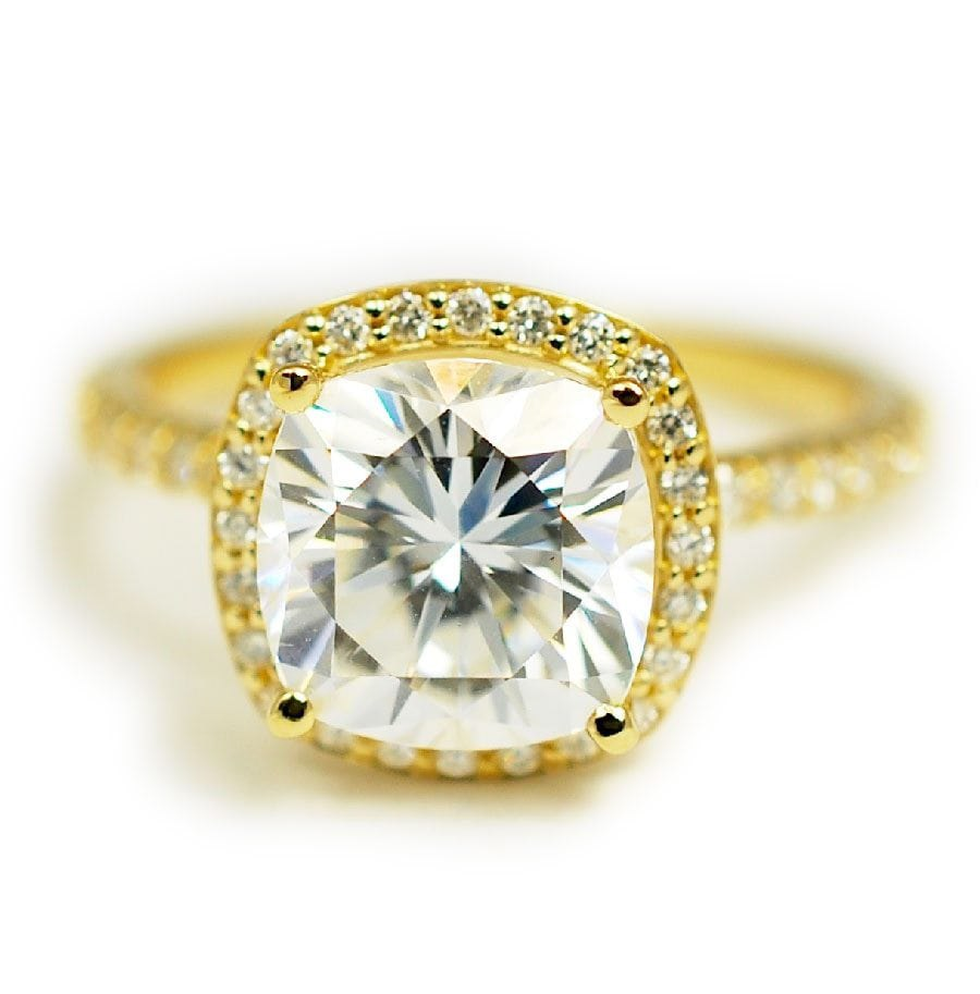 Remarkable Alternative A Fraction Chelseaare Two Moissanite Engagement Rings That Most Would Assume Are How Much Is A Custom Abby Sparks Jewelry Laura wedding rings Design A Ring