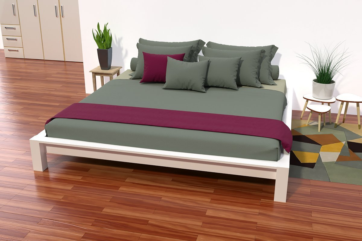 Lit King Size Dimension Lit King Size 200 X 200 Cm Bois Abc Meubles