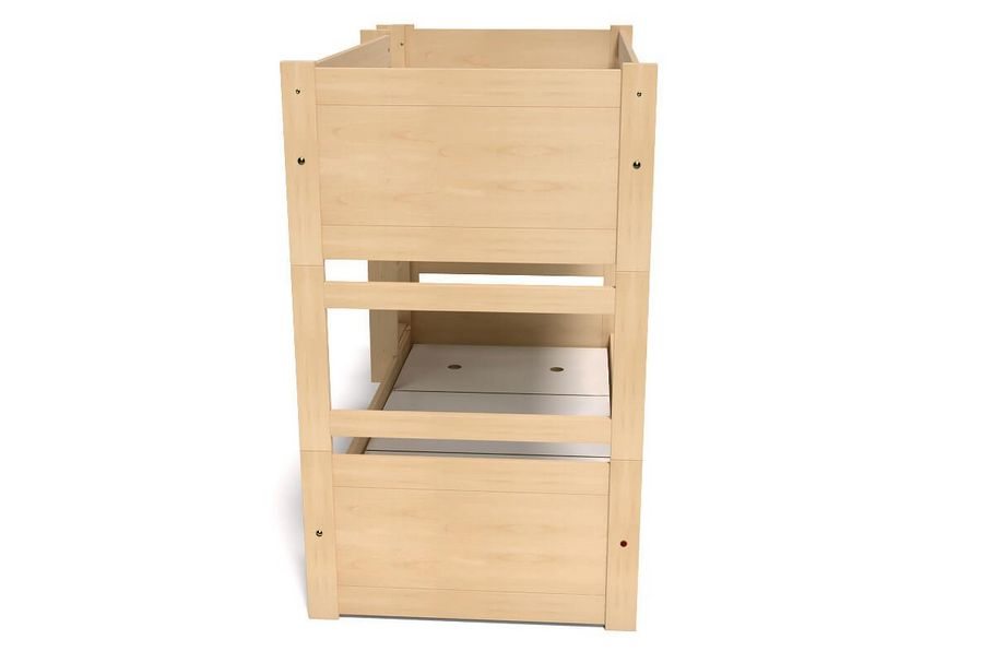 Meuble Tv Compact Bunk Bed Duo In Beech Abc Meubles