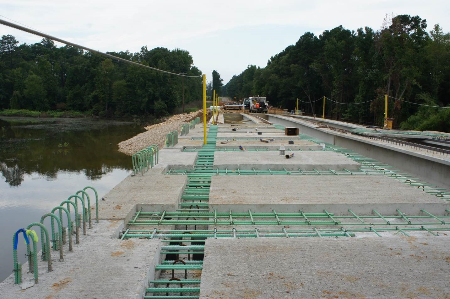 Precast Bridges Partial Depth Precast Deck Panel Design And Construction In Texas
