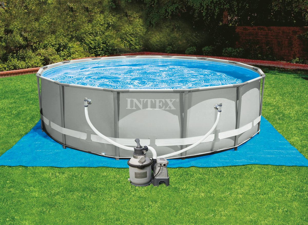 Carrefour Piscinas Bestway Intex Piscine Tubulaire 427 X 122 M