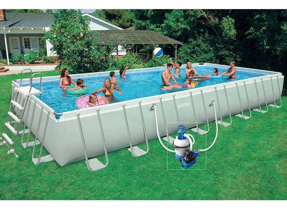 Lit Gonflable électrique Intex Premaire Dream Support 2 Personnes Intex Piscine Tubulaire Rectangulaire 975 X 488 X 13