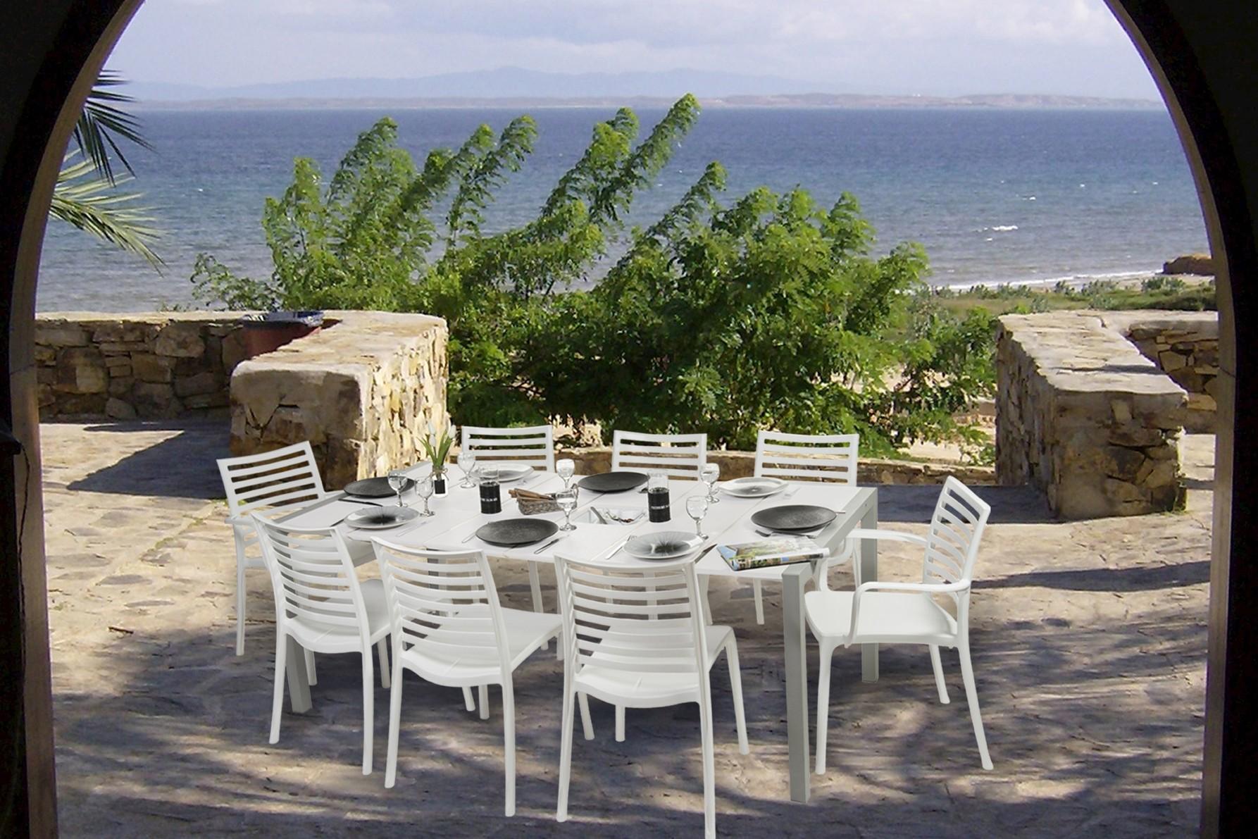 Table De Jardin Couleur Taupe | Table De Jardin Ambrosio Taupe ...