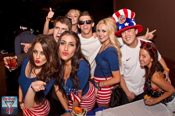San Francisco's 4th of July Pub Crawl