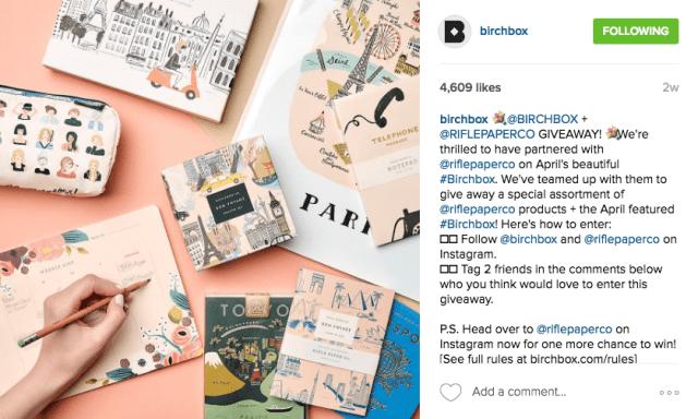 Birchbox Instagram Contest