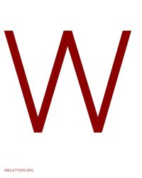 White Letter W Pictures to Pin on Pinterest - PinsDaddy