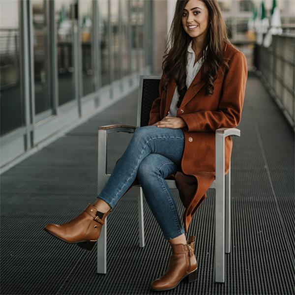 Amy Huberman Presumed Innocent - Tan Vaughan Shoes Ireland