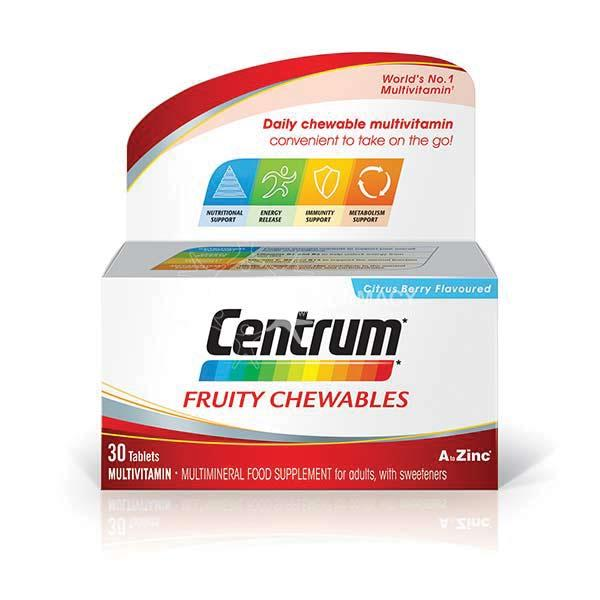 Baby Travel System Ireland Centrum Fruity Chewables Citrus Berry Flavoured 30 Pack