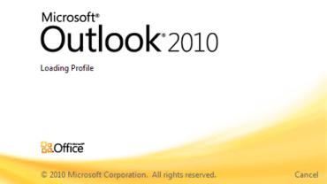 Microsoft Outlook 2010.