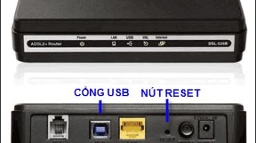 Các bước để thiết lập mạng WiFi
