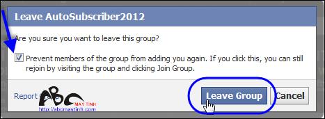 Tránh phiền toái từ các nhóm (Group) trên Facebook