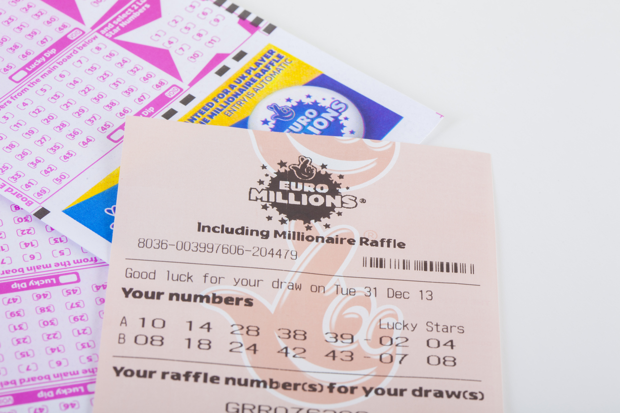 Lotto Euromillions West Midlands Electrician