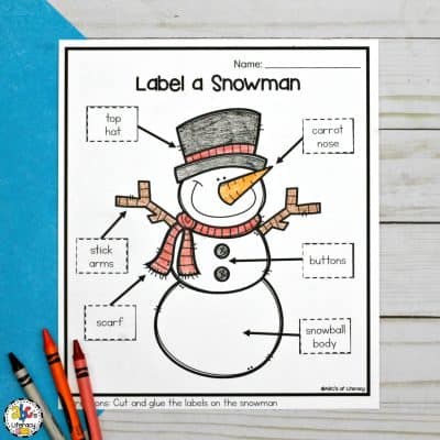 Parts of a Snowman Archives - ABC\u0027s of Literacy