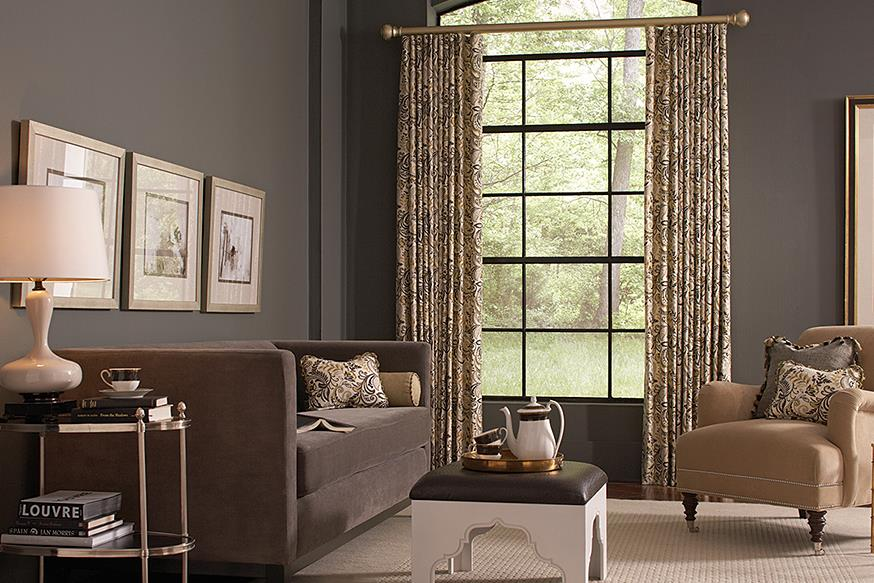 Sage And Tan Living Room Curtains