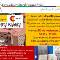Visita guiada por la Biblioteca Islámica – Madrid