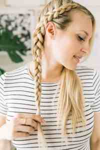 Dutch Braid Tutorial - A Beautiful Mess