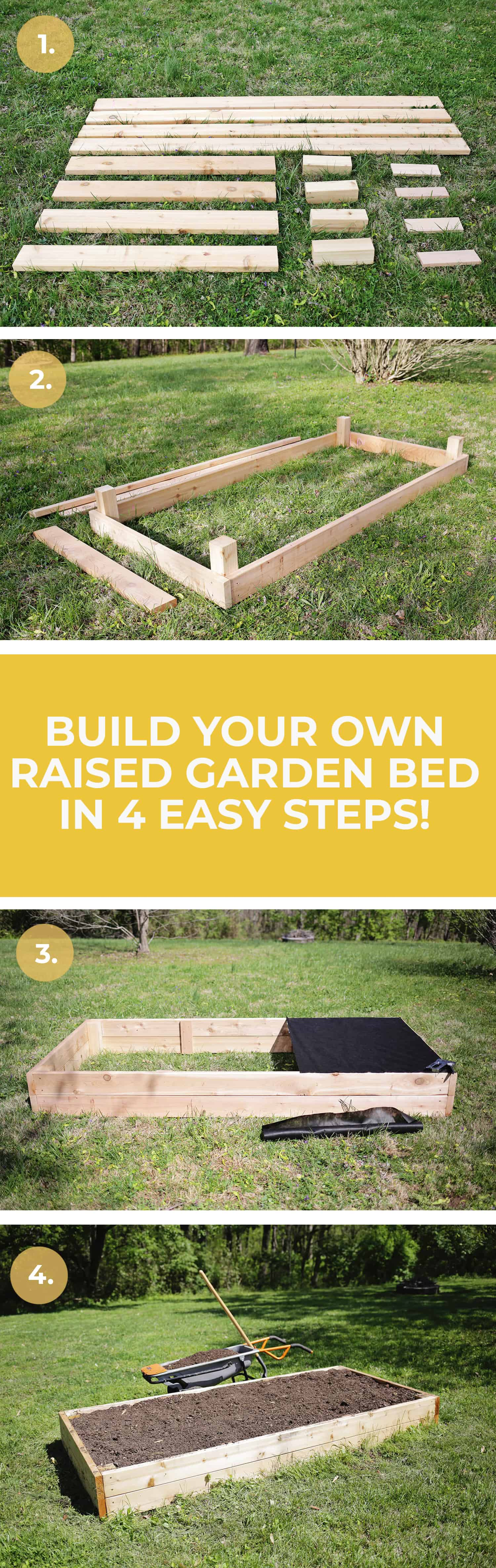 Make Your Own Raised Garden Bed In 4 Easy Steps A Beautiful Mess