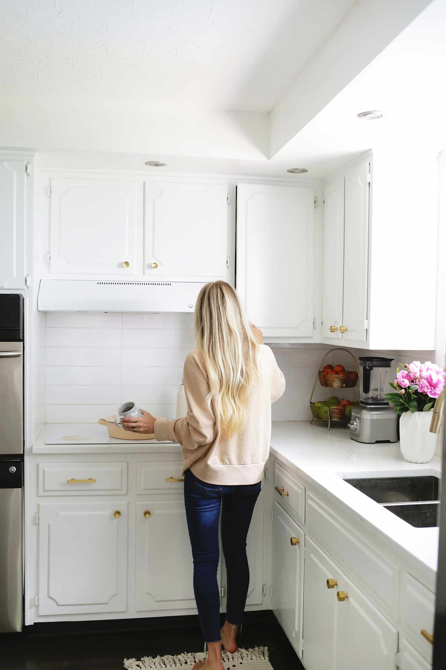 How I Refreshed My Kitchen Cabinets In One Afternoon A Beautiful Mess