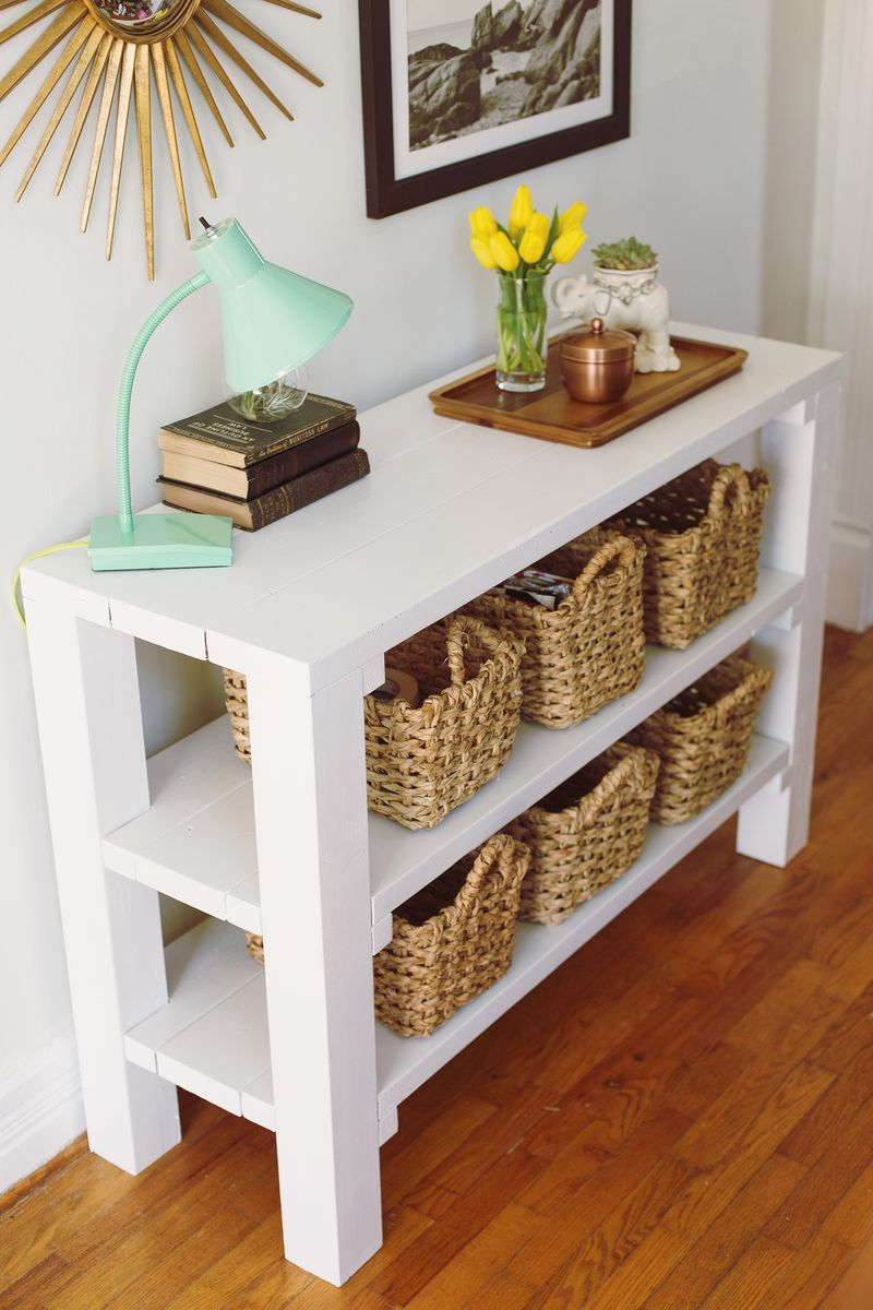 Entryway Key Throw Table A Beautiful Mess