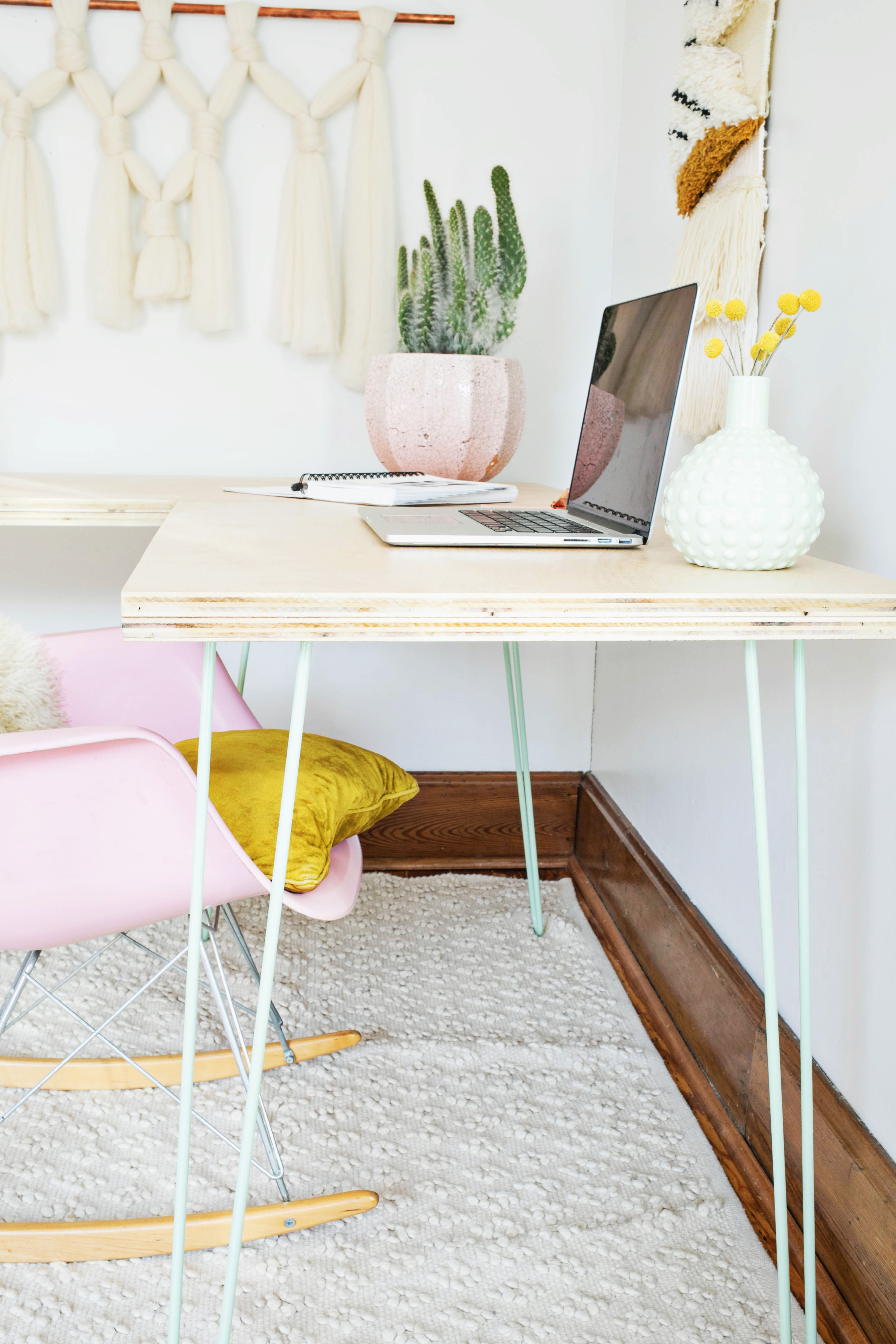 Transformable Hairpin Leg Desktop Diy A Beautiful Mess