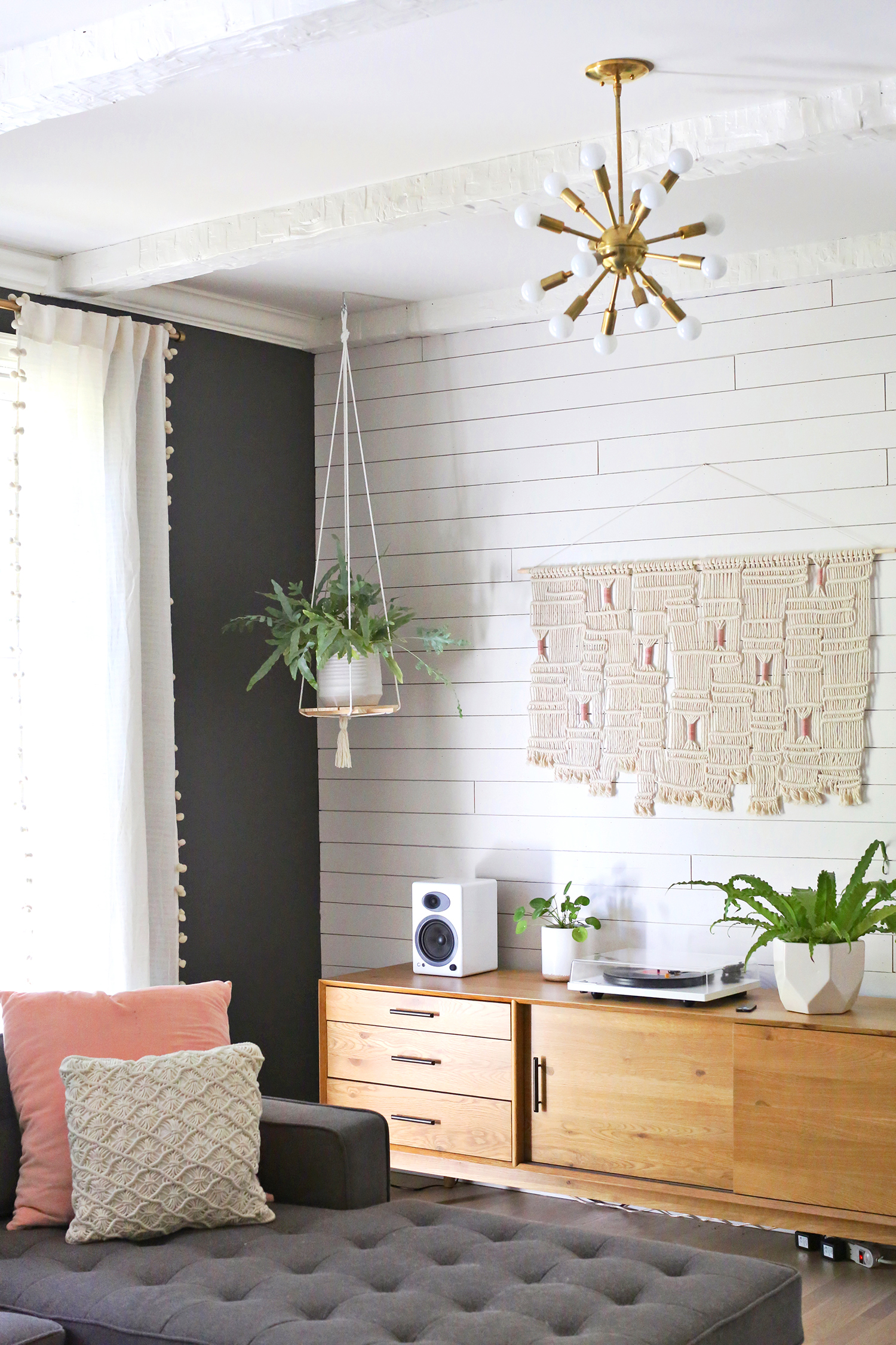 Plant Shelves For Walls Hanging Plant Shelf Diy A Beautiful Mess