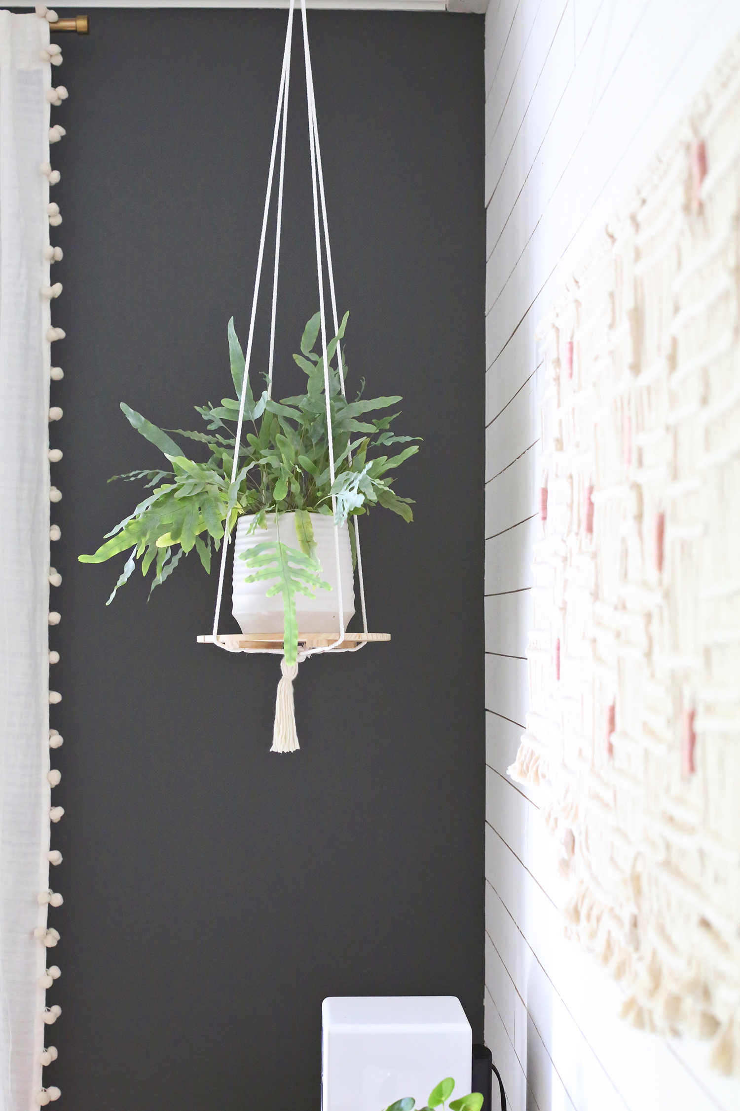 Plant Shelving Indoor Hanging Plant Shelf Diy A Beautiful Mess
