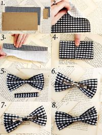How To Make a Bow Tie - A Beautiful Mess
