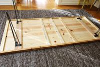 Elsies DIY Dining Room Table  A Beautiful Mess