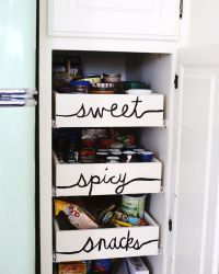 Nesting: Kitchen Organization Time