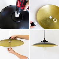 Easy DIY Pendant Lamp - A Beautiful Mess